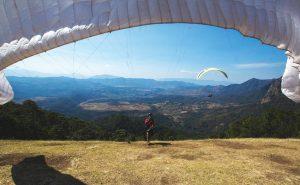 Paragliding in Valle de Bravo, Mexico